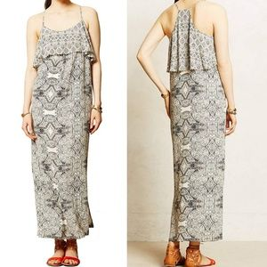 VANESSA VIRGINIA Anthropologie Maxi Dress Sz 10